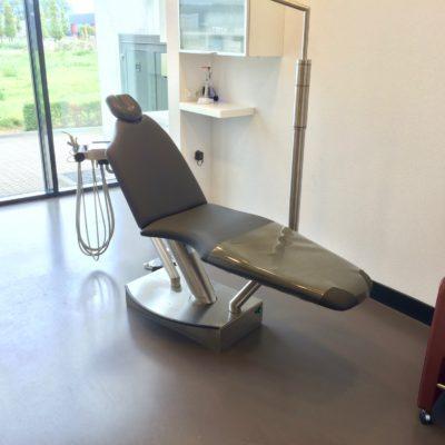 Project meerdere behandelstoelen opnieuw bekleden