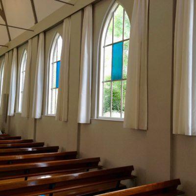Project Gordijnen voor kerkinrichting