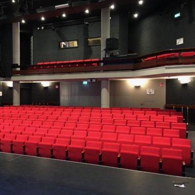 Project Theaterzaal opnieuw bekleed