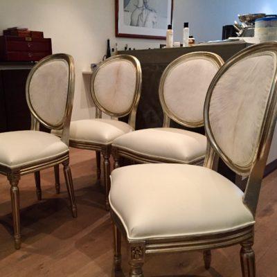 Franse stijl klassieke eetkamerstoelen