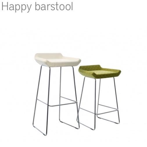 Swedese Happy Barstool barkruk herstofferen opnieuw bekleden
