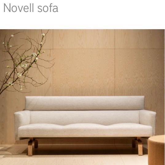 Swedese Novell Sofa Bank herstofferen opnieuw bekleden
