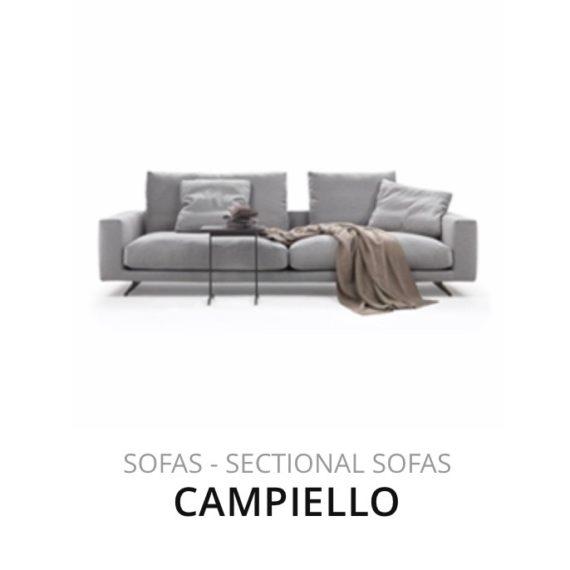 Flexform Campiello bank herstofferen opnieuw bekleden stofferen herstellen