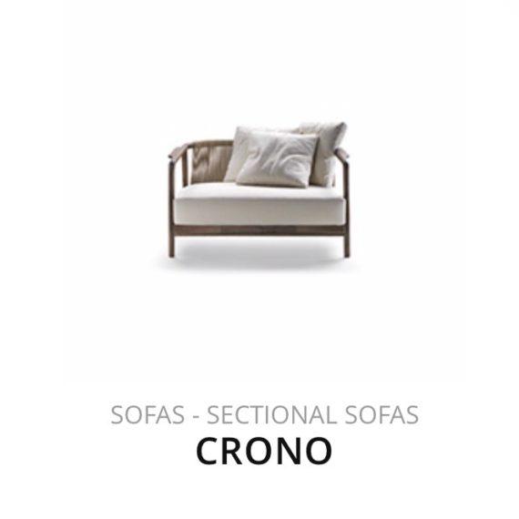 Flexform Crono bank sofa herstofferen opnieuw bekleden stofferen herstellen