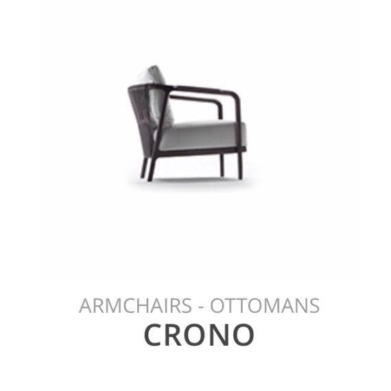 Flexform Crono fauteuil Ottomans herstofferen opnieuw bekleden stofferen herstellen