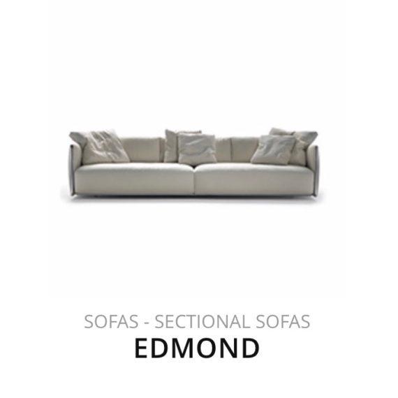 Flexform Edmond sofa bank herstofferen opnieuw bekleden stofferen herstellen