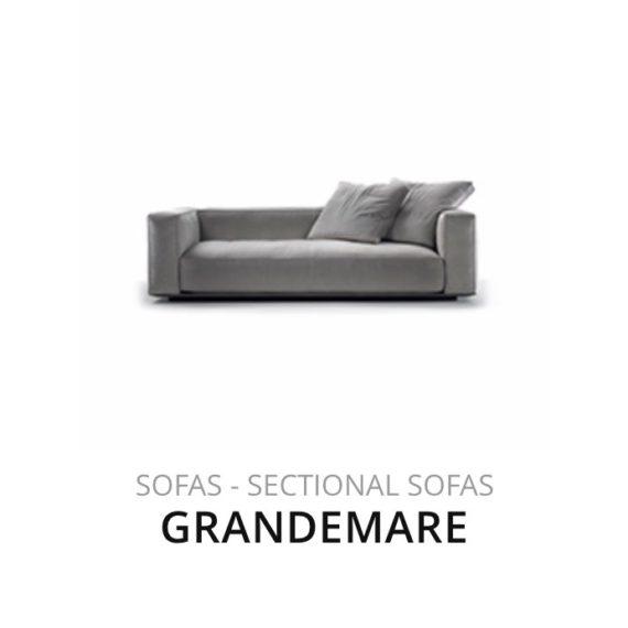 Flexform Grandemare sofa bank herstofferen opnieuw bekleden stofferen herstellen