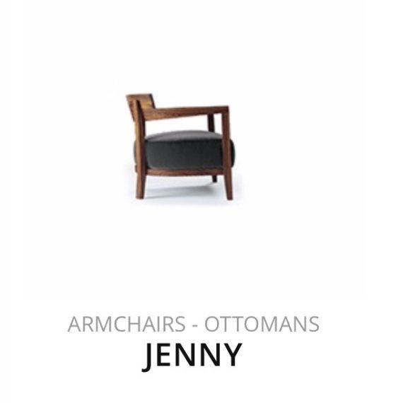 Flexform Jenny fauteuil herstofferen opnieuw bekleden stofferen herstellen Ottomans