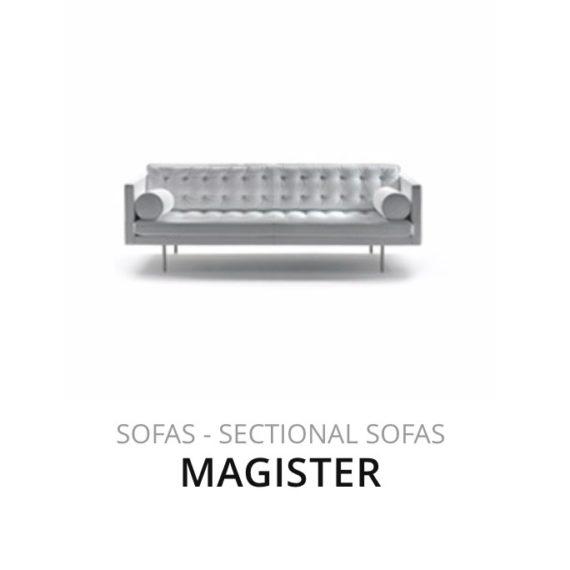 Flexform Magister sofa bank herstofferen opnieuw bekleden stofferen herstellen