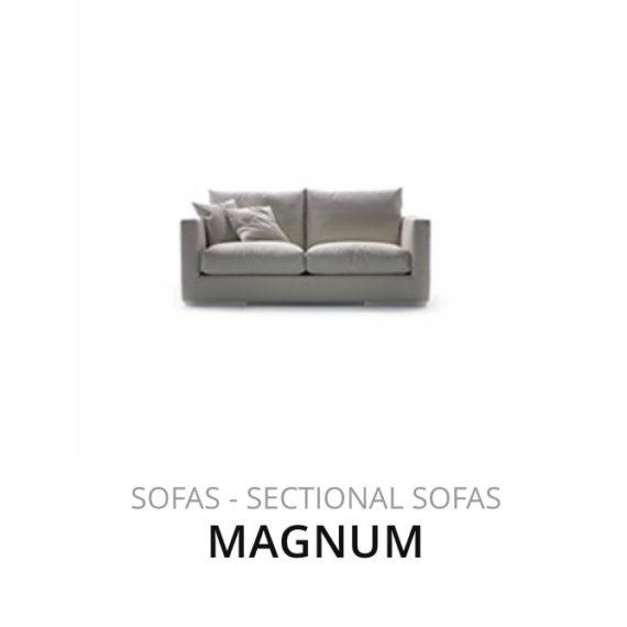 Flexform Magnum sofa bank herstofferen opnieuw bekleden stofferen herstellen
