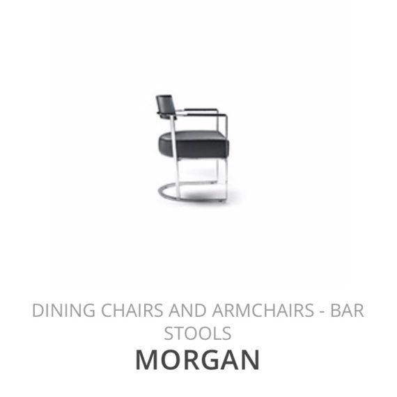 Flexform Morgan eetkamerstoel Diningchair herstofferen opnieuw bekleden stofferen herstellen