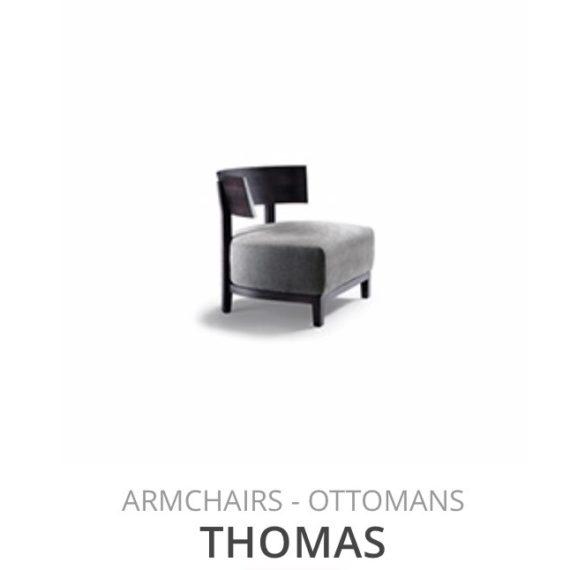 Flexform Thomas fauteuil Ottomans herstofferen opnieuw bekleden stofferen herstellen